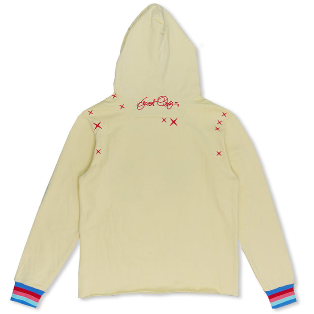F5738 Love Kills Hoodie - Light Yellow