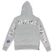 F5722 Die For Ya Love Hoodie - Heather Gray