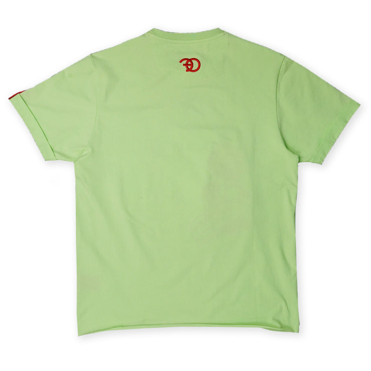 F114 Chic Magnet Tee - Lime