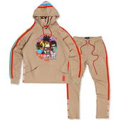 F5728 & F6728 Frost Bad Guy Fleece Set Up - Khaki