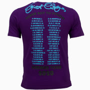 F106 Dear Sins World Tour Tee - Purple