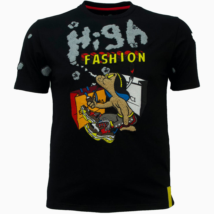 F118 High Fashion Tee - Black
