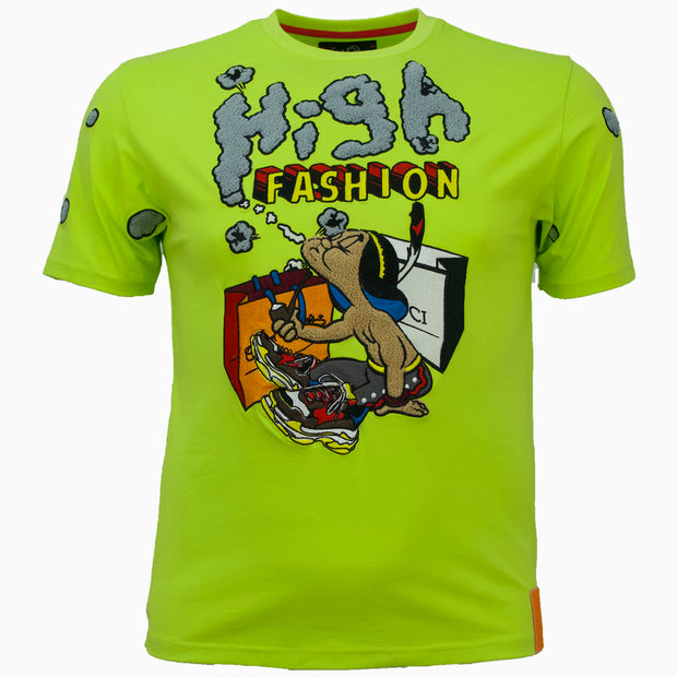 F118 High Fashion Tee - Lime