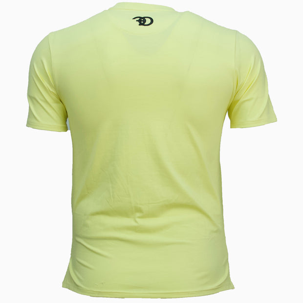 F109 Vibes Tee - Light Yellow
