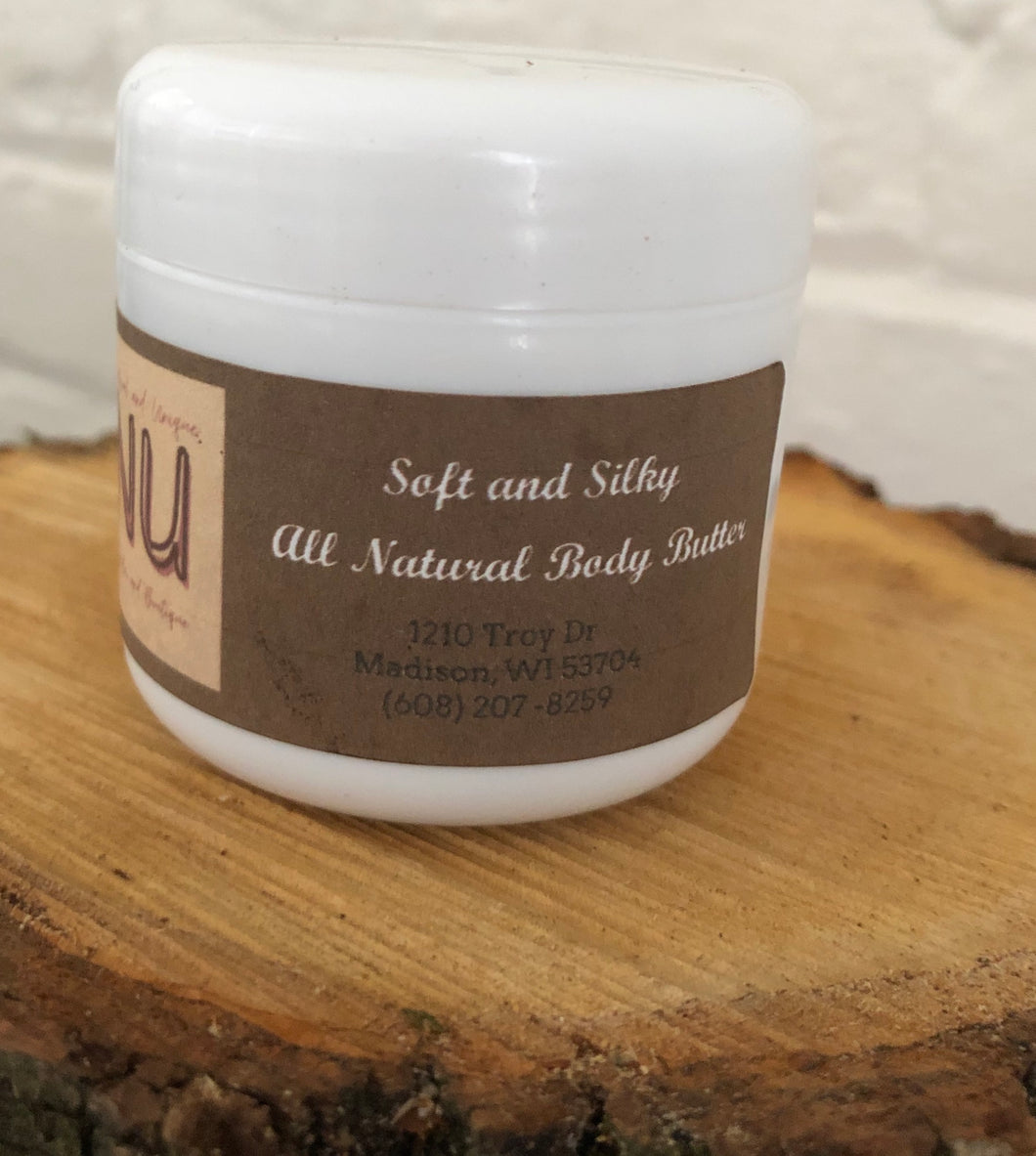 Soft and Silky Body Butter
