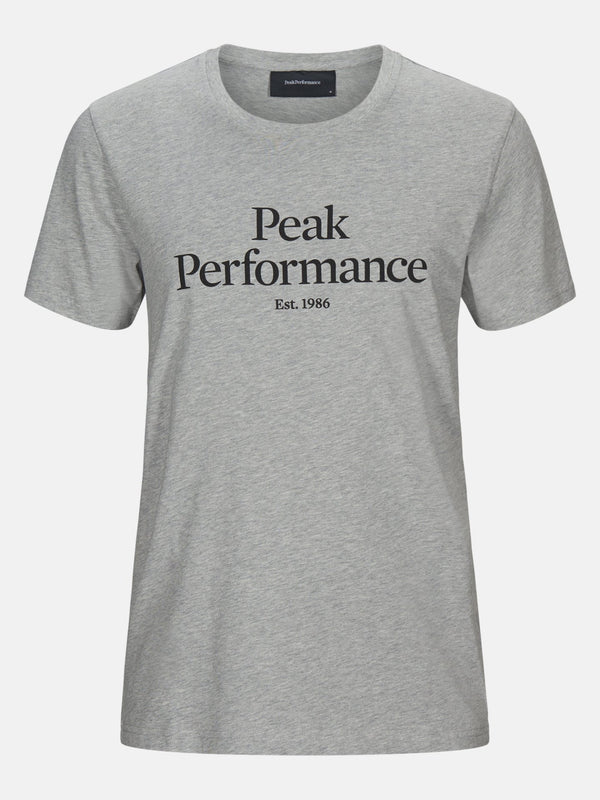 T-Shirt - hellgrau - Peak Performance