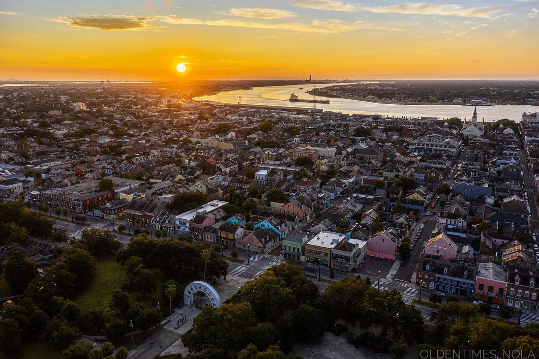 The French Quarter At Sunrise
