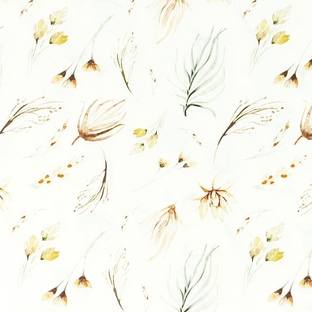 Delicate Floral Crib/ Next2Me Sheet