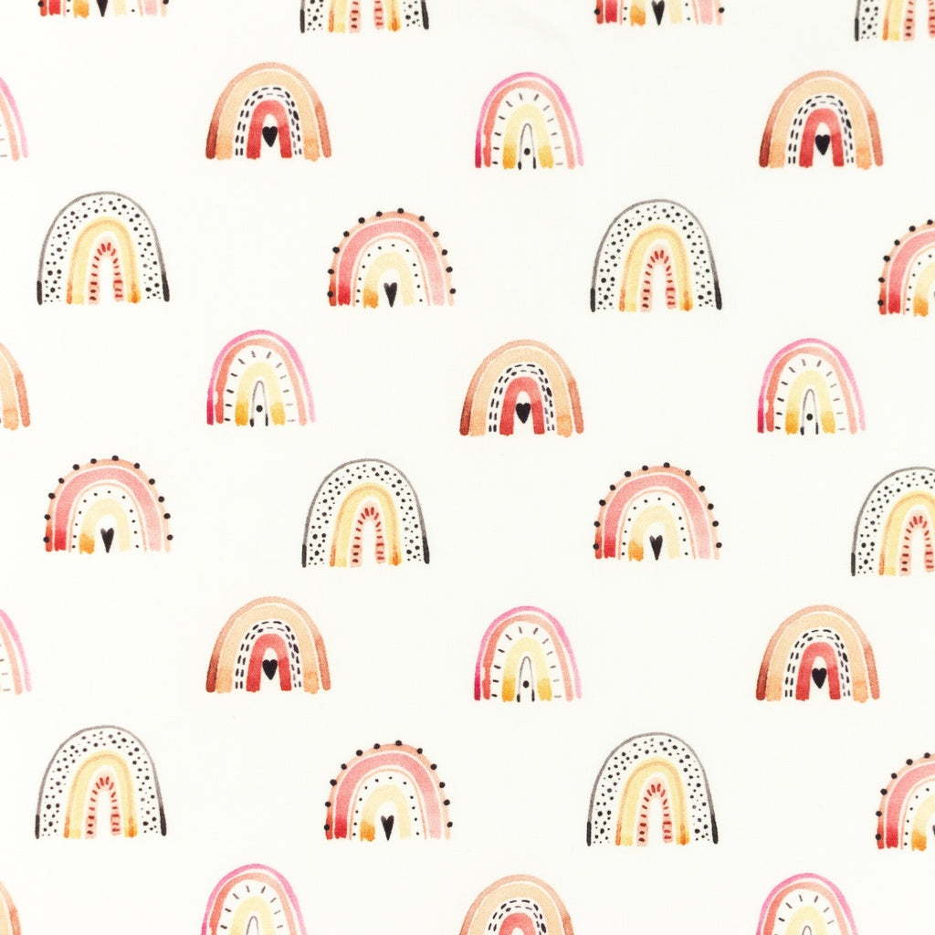 Over The Rainbow Crib/Next2Me Sheet