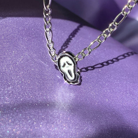 Scream Ghost Necklace