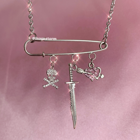 Charmed Out Death Necklace