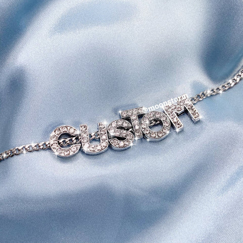 Custom Icy Name Necklace