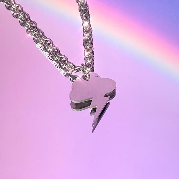 Thunder Cloud Necklace