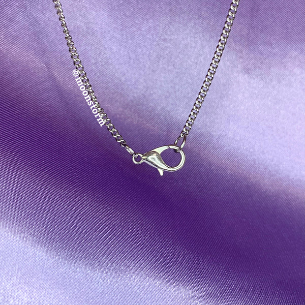 Dainty Curb Chain Necklace