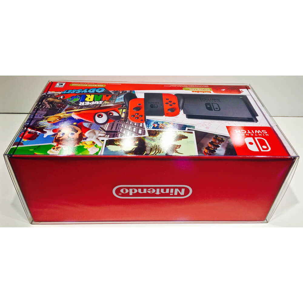 NINTENDO SWITCH MARIO ODYSSEY / SPLATOON 2 1 PACK CONSOLE PROTECTOR