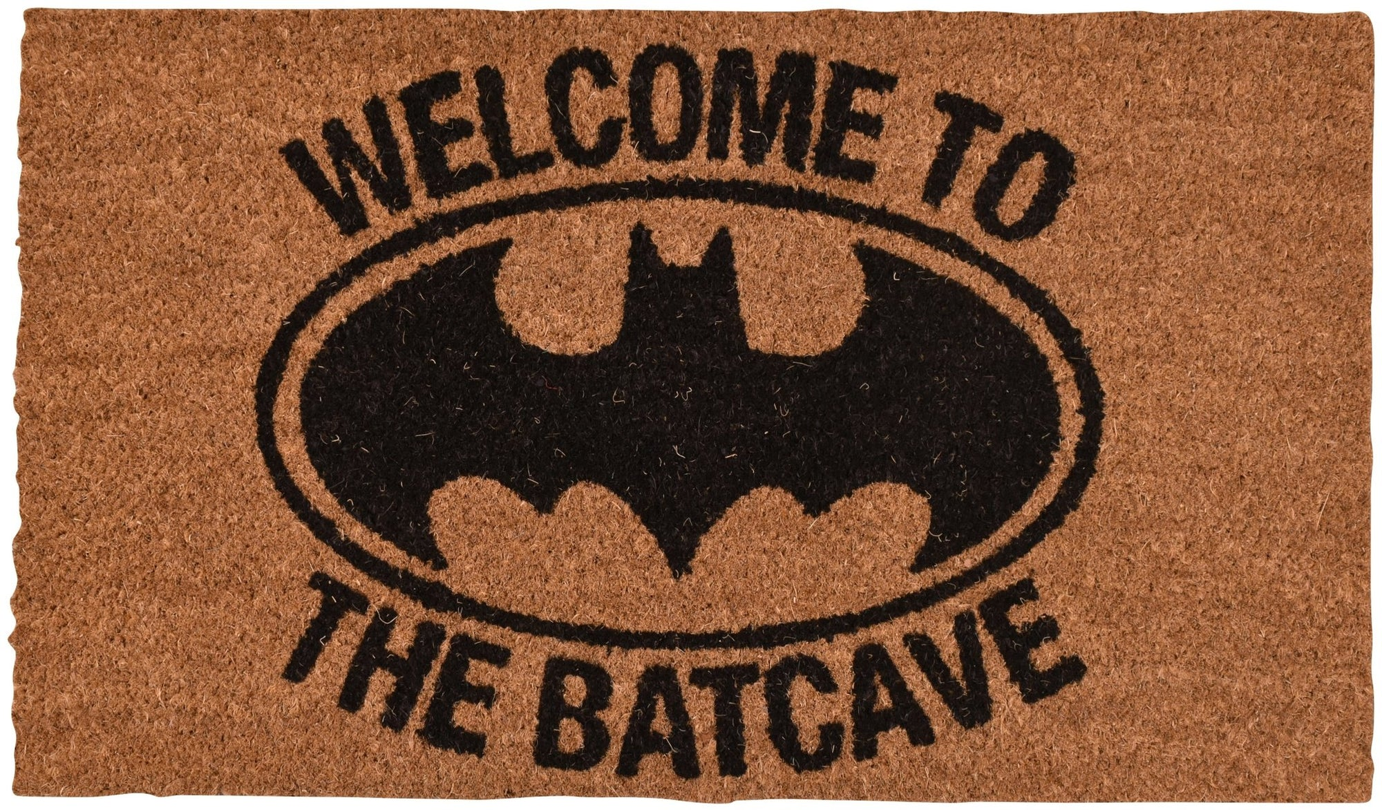 DC COMICS BATMAN WELCOME TO THE BATCAVE DOORMAT - EvoRetro Lets Game