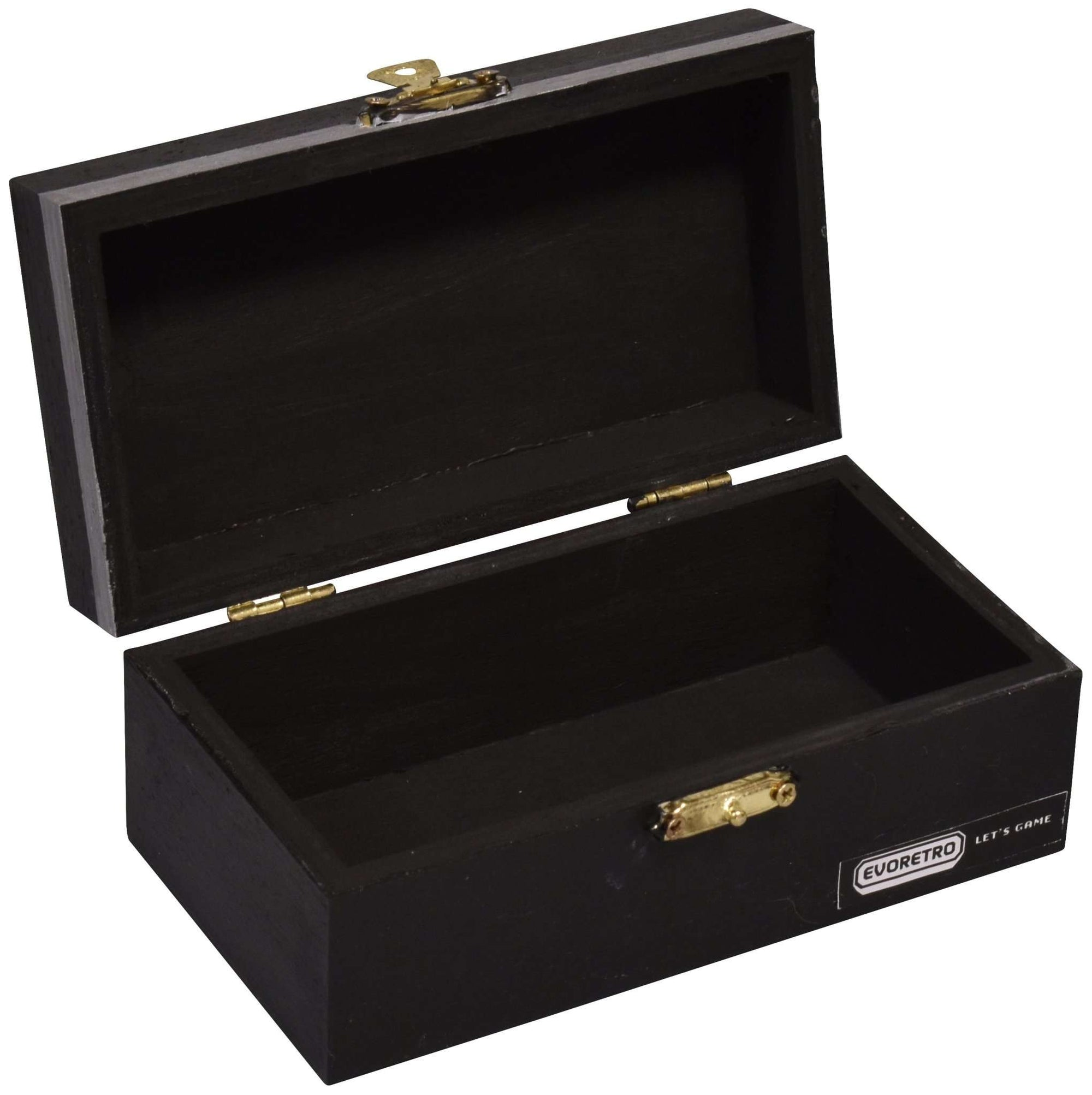 DECORATIVE BLACK MYSTERY BOX - EvoRetro Lets Game