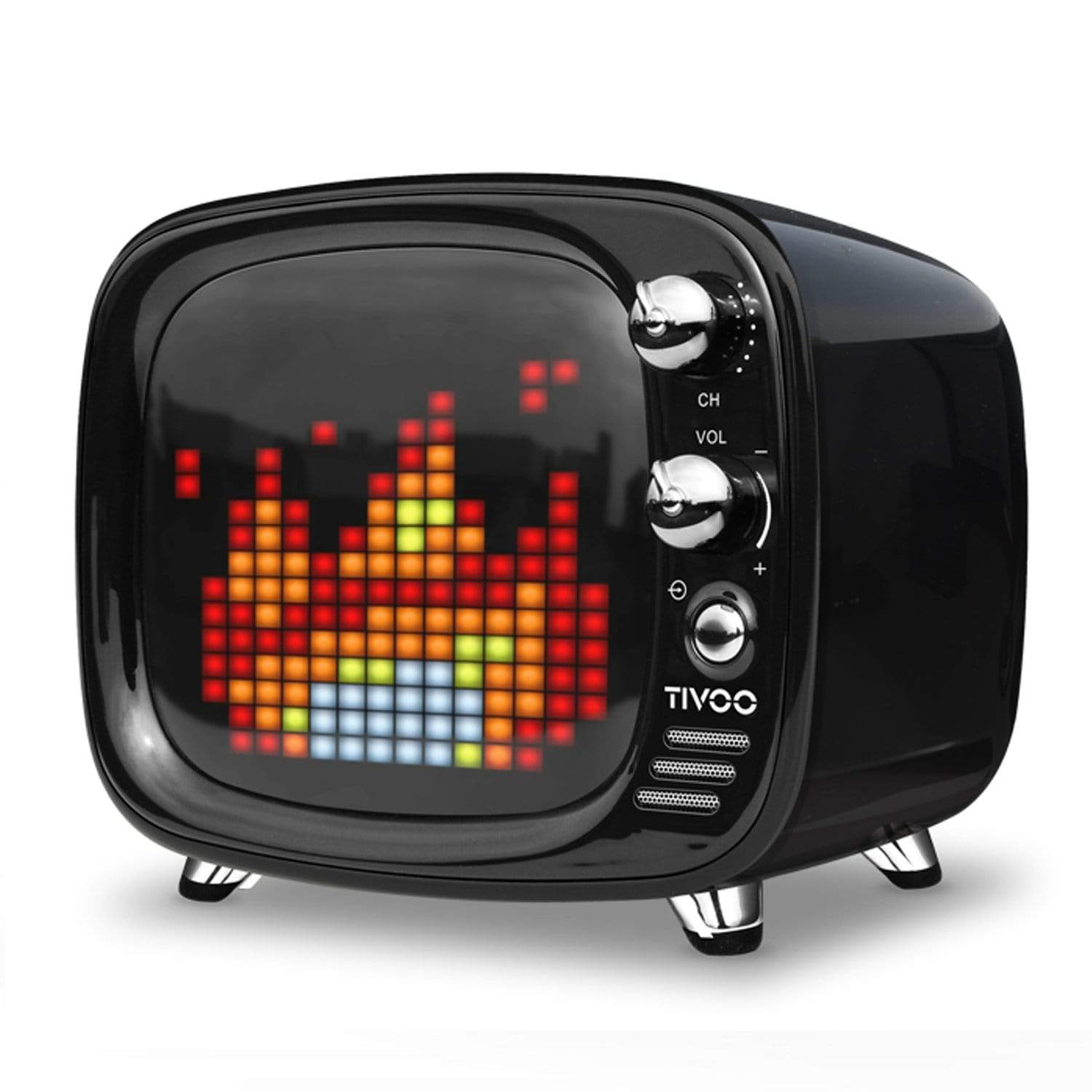 Divoom Tivoo LED light pixel art speaker small TV - EvoRetro Lets Game