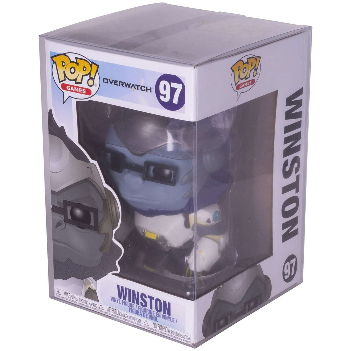 Funko Pop for OverWatch Winston 6 Inch Pop Truck - EvoRetro Lets Game