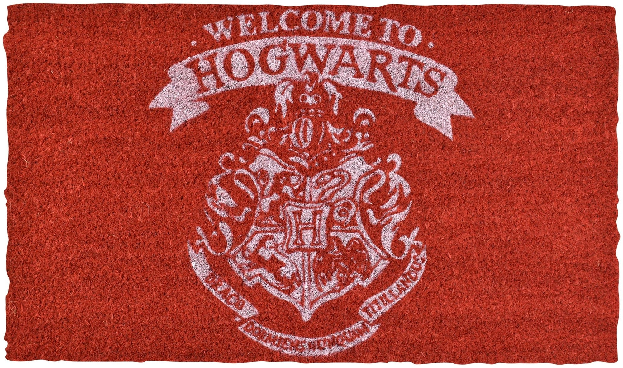 HARRY POTTER WELCOME TO HOGWARTS DOORMAT - EvoRetro Lets Game
