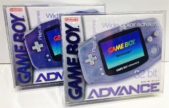 NINTENDO GAME BOY ADVANCE CONSOLE BOX PET PROTECTOR - EvoRetro Lets Game