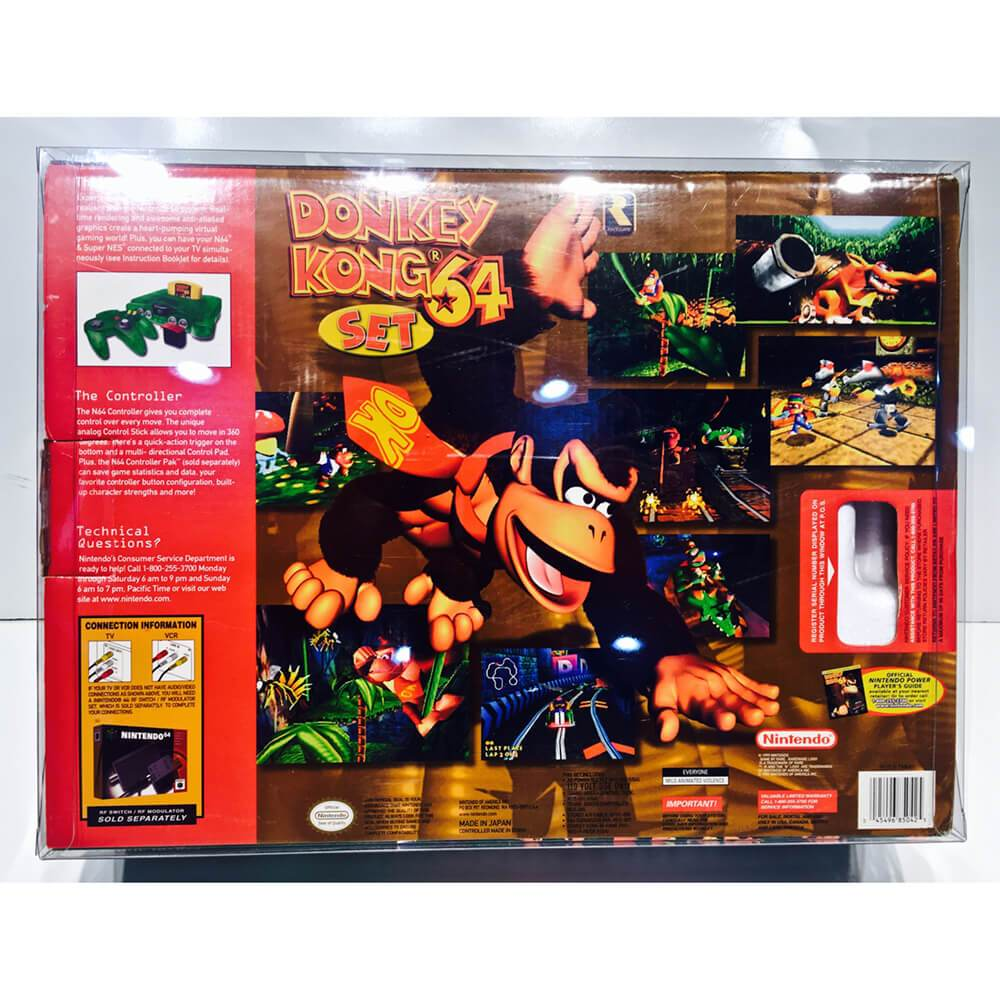 NINTENDO N64 1 PACK CONSOLE BOX PROTECTOR - EvoRetro Lets Game