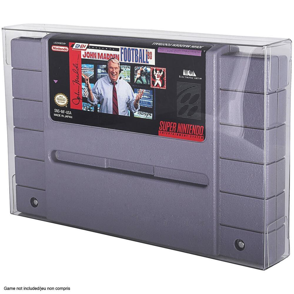 NINTENDO SNES CARTRIDGE PROTECTOR - EvoRetro Lets Game