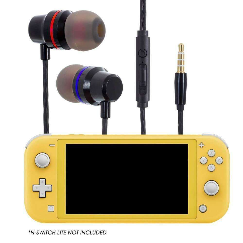 NINTENDO SWITCH AND NINTENDO SWITCH LITE EARBUDS - EvoRetro Lets Game