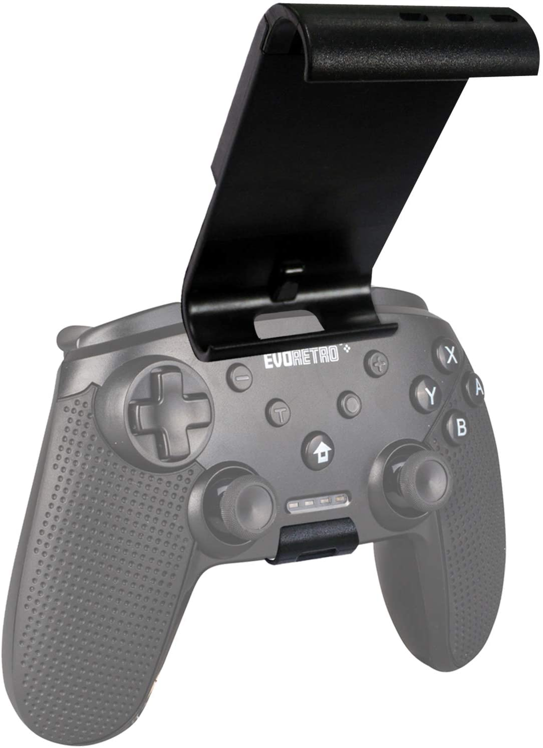 NINTENDO SWITCH CONTROLLER CLIP MOUNT (BLACK) - EvoRetro Lets Game