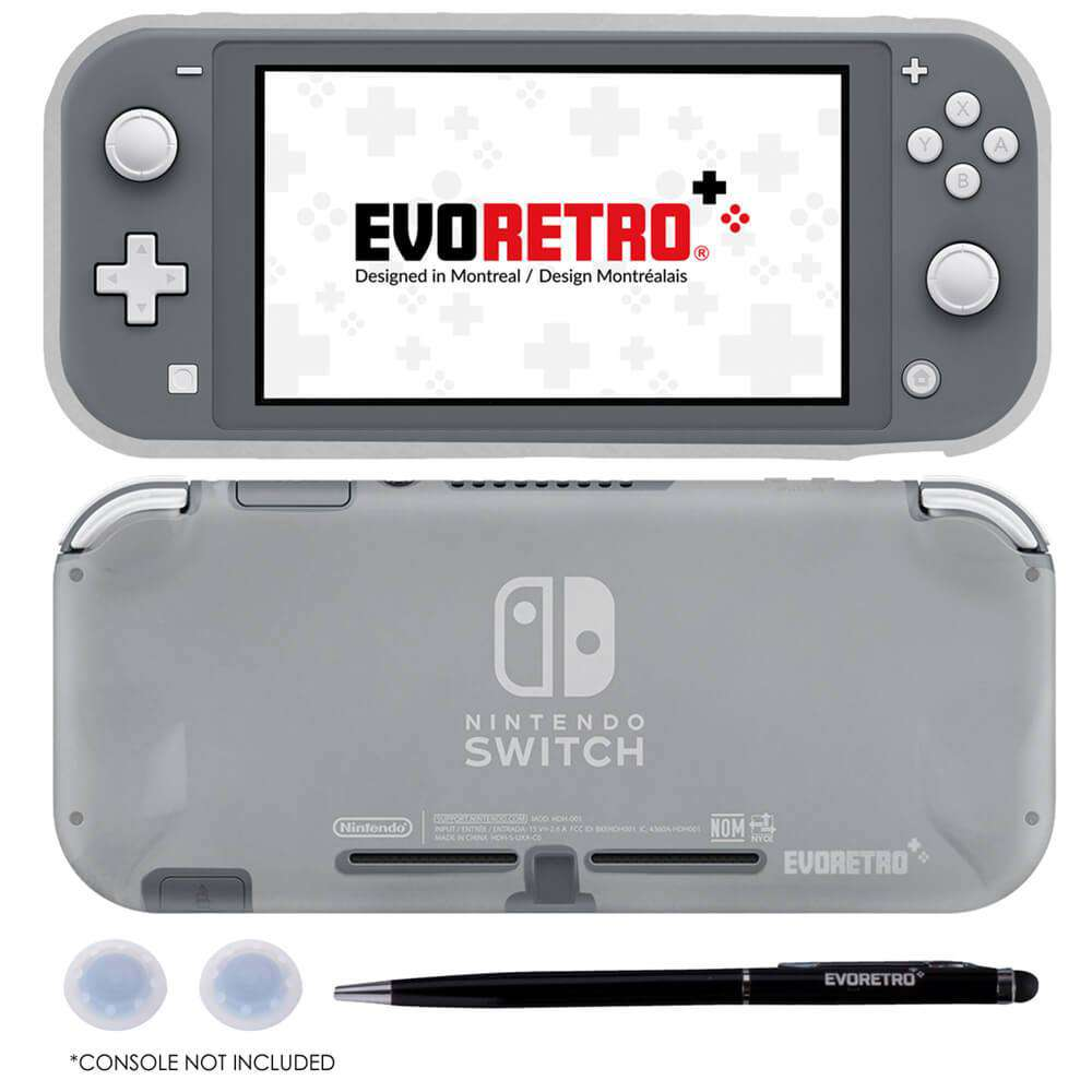 NINTENDO SWITCH LITE CASE WITH PEN AND THUMBSTICK BUNDLE - EvoRetro Lets Game