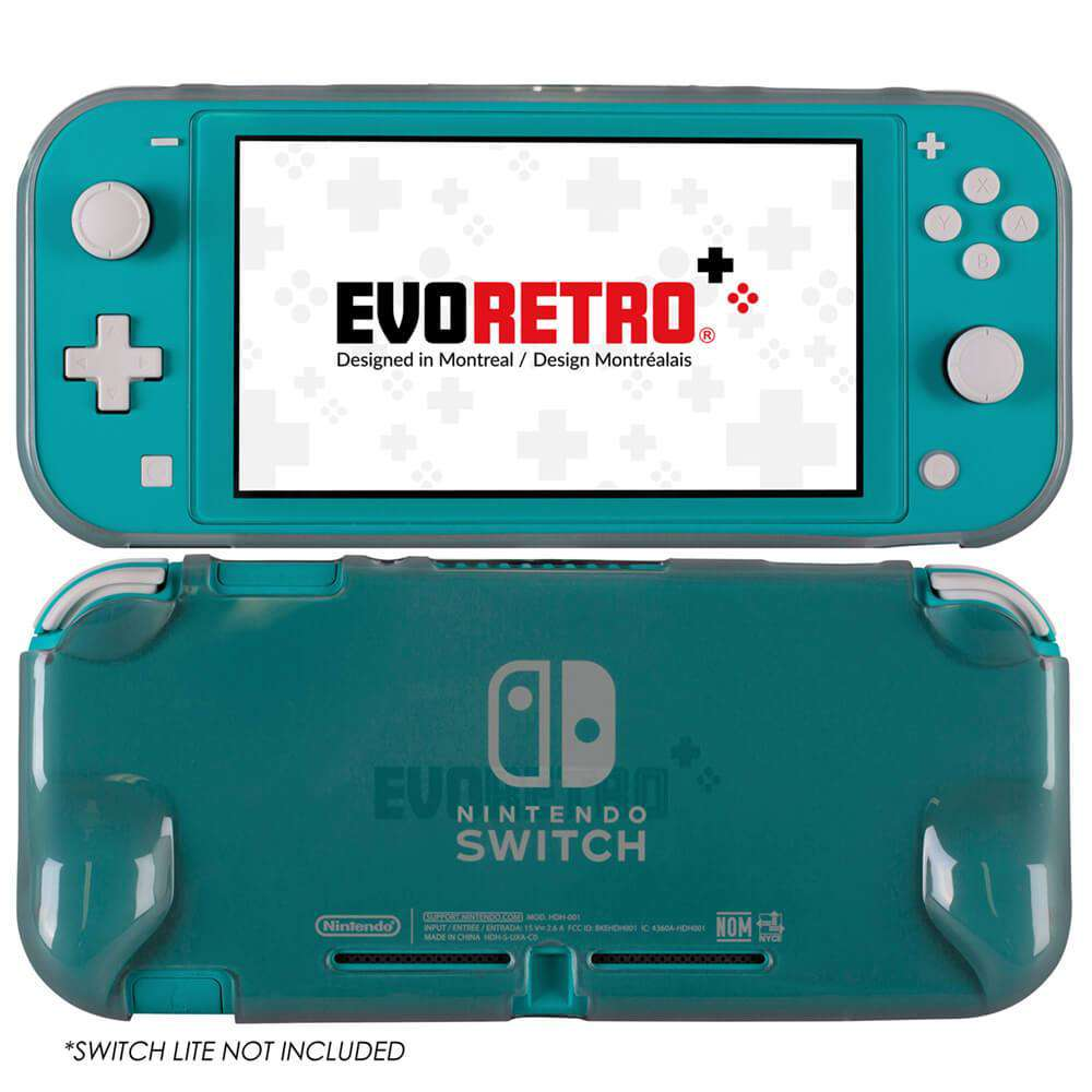 NINTENDO SWITCH LITE TPU TANSPARENT SHELL CASE - EvoRetro Lets Game