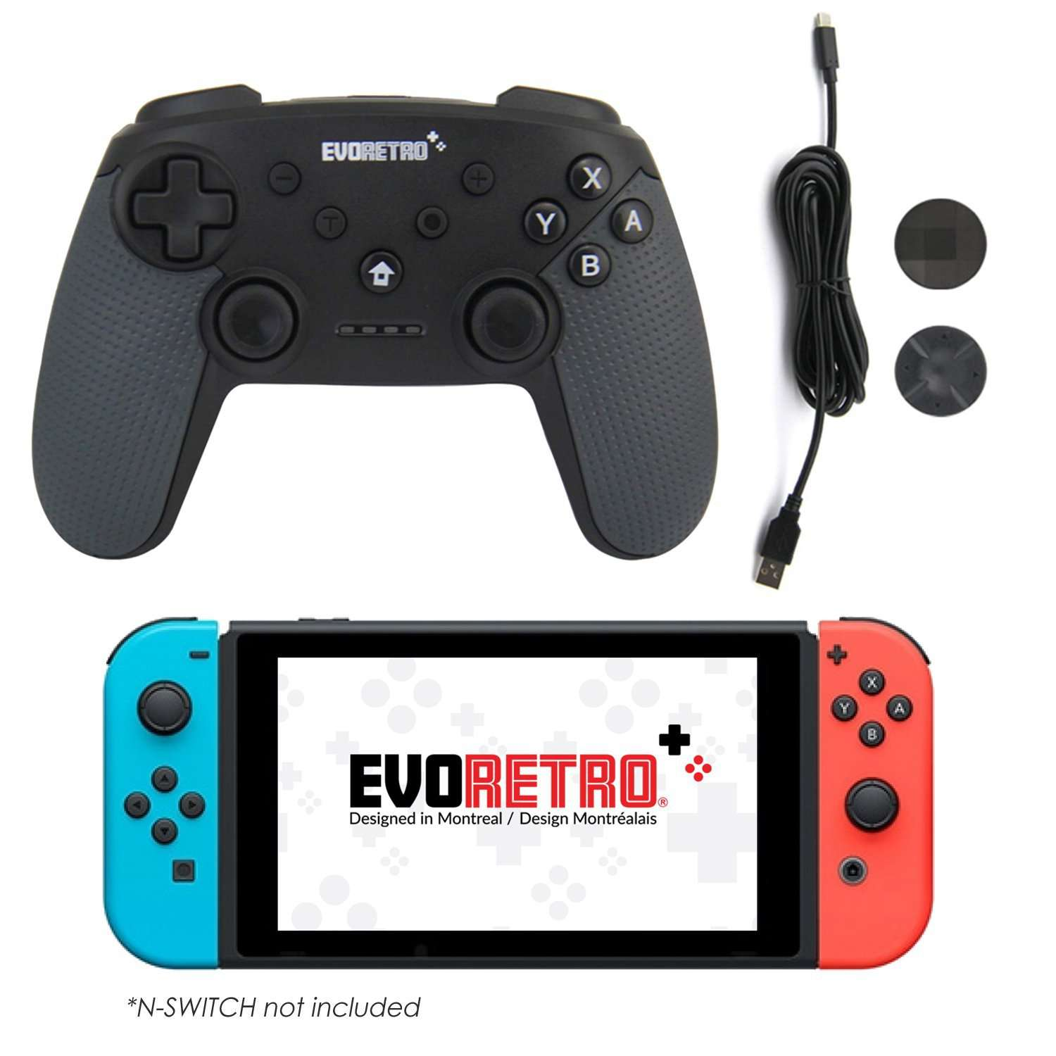 Nintendo Switch Pro Controller - EvoRetro Lets Game