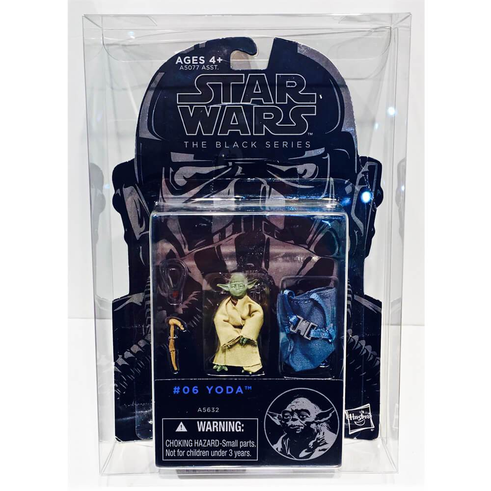 "STAR WARS 3.75"" CARDED FIGURE 1 PACK BOX PROTECTOR - EvoRetro Lets Game"