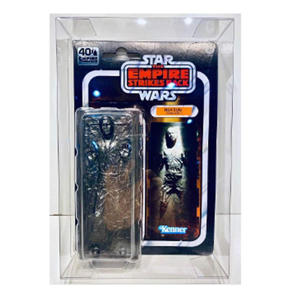 STAR WARS 40TH ANNIVERSARY HAN SOLO CARBONITE 1 PACK BOX PROTECTOR - EvoRetro Lets Game