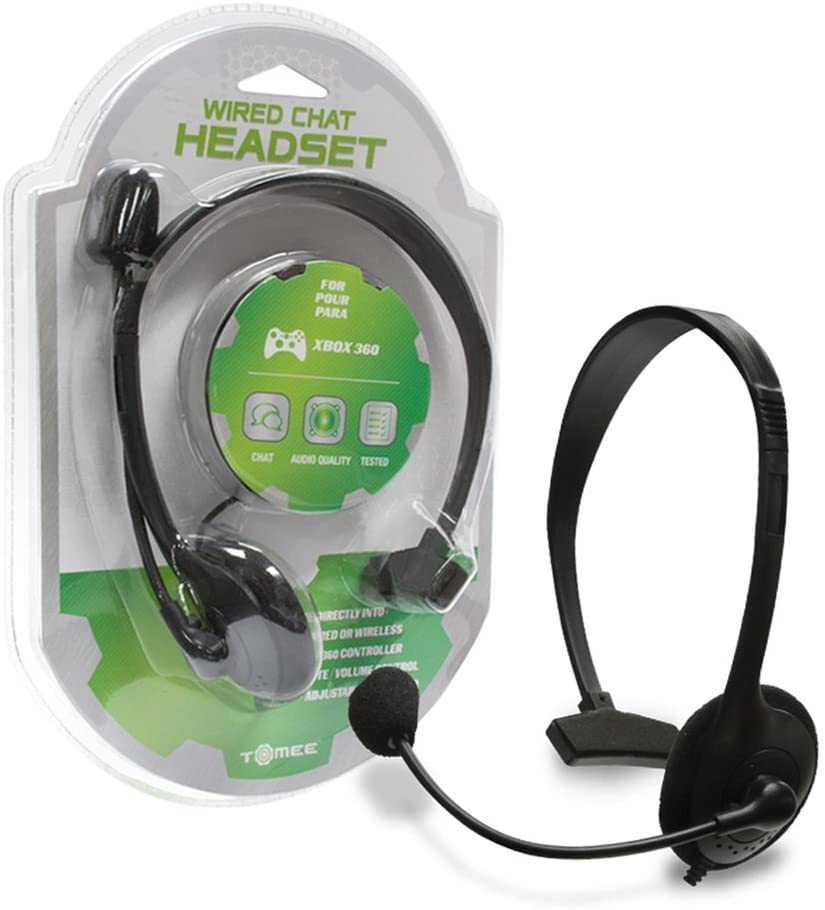 TOMEE MICROPHONE HEADSET FOR XBOX 360 - EvoRetro Lets Game