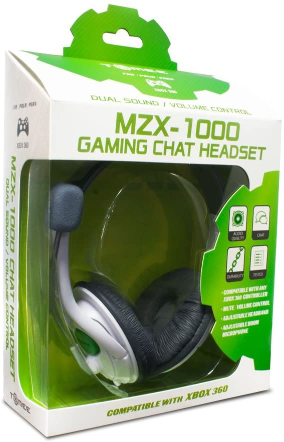 TOMEE MZX-1000 HEADSET FOR XBOX 360 - EvoRetro Lets Game