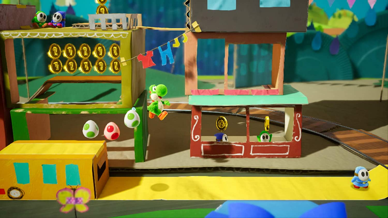 Yoshi's Crafted World - Standard Edition NINTENDO SWITCH - EvoRetro Lets Game