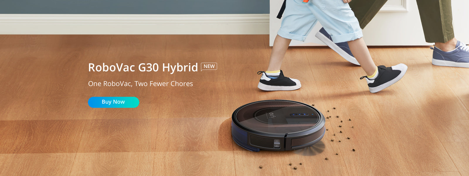 Eufy Coupon Codes - RoboVac G30 Hybrid @ just $369.99