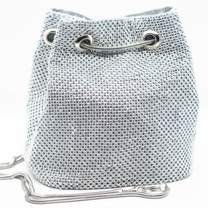 SO ICY BLINGED OUT BUCKET BAG