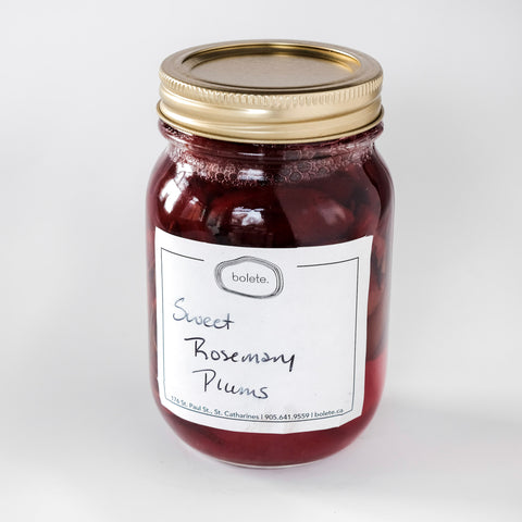 Rosemary Plums
