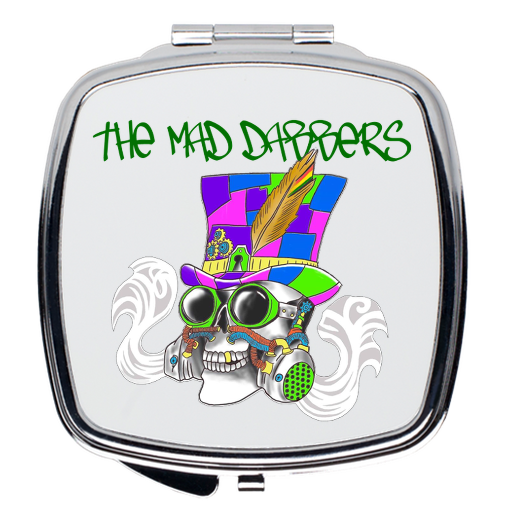 The Mad Dabbers Official Logo - Compact Mirrors