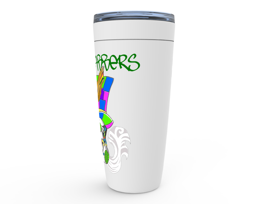 The Mad Dabbers Official Logo - Viking Tumblers