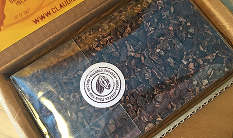 Selection of World Class Raw Cocoa Nibs – 150g