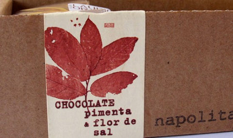 SOLD OUT - Chocolate 70% with pepper and 'fleur de sel' - 160g