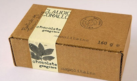 Chocolate 70% with crystallized ginger - 160g