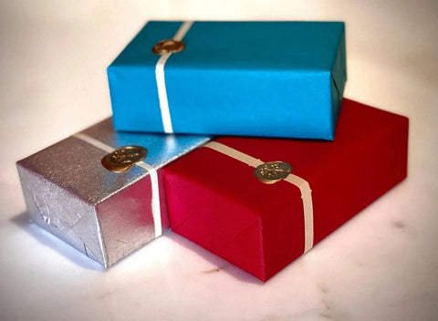 Holiday Gift Wrapped Chocolate Box - 100G-160G Varieties