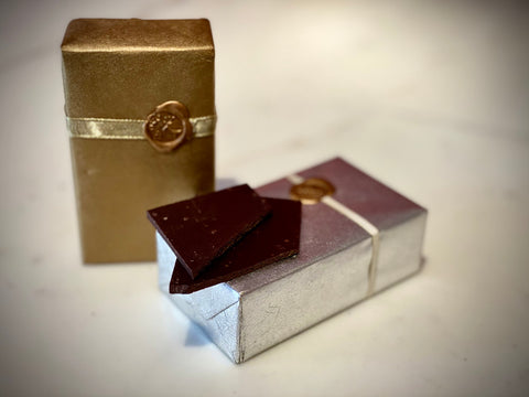 Gift Wrapped Chocolate Box - 100g-160g Varieties