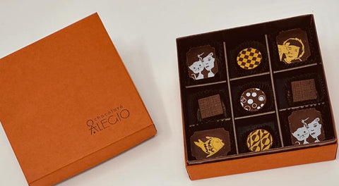 Holiday Gift - Chocolate Truffle Gift Box (9 & 18 ct)