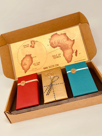 Holiday Gift - Triple Deluxe Chocolate Box - 100g-160g Varieties