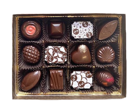 12-piece Chocolate Truffle Assortment